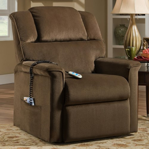 Franklin Franklin Recliners Trinity Lift Recliner with Casual Style and Remote