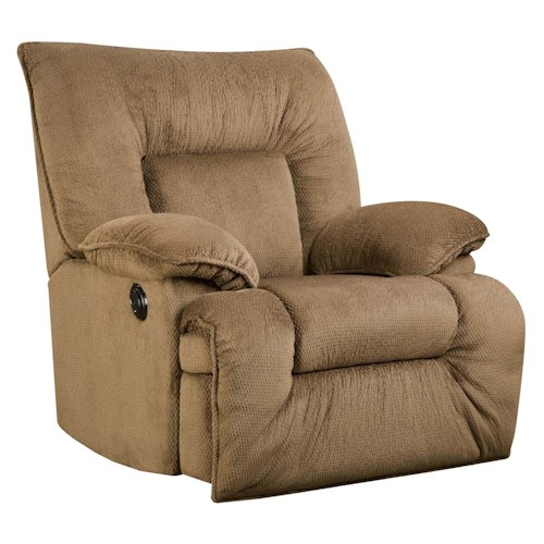 Franklin Franklin Recliners Hamilton Rocker Recliner with Casual Style