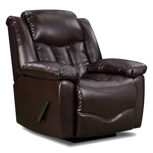 Franklin Franklin Recliners Recliner with Casual Style