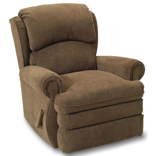Franklin Rocker Recliners Non-Chaise Handle Rocker Recliner