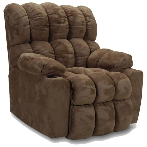 Franklin Rocker Recliners Wall Recliner with Handle