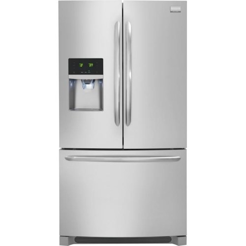 Frigidaire French Door Refrigerators 22.6 Cu. Ft. French Door Counter-Depth Refrigerator
