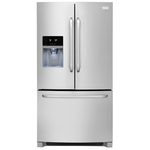 Frigidaire French Door Refrigerators ENERGY STAR® 26.7 Cu. Ft. French Door Refrigerator with Adjustable Interior Storage
