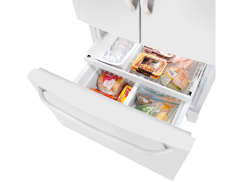 Freezer Basket with Divider