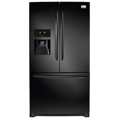 Frigidaire Frigidaire Gallery Refrigerators Gallery ENERGY STAR® 27.8 Cu. Ft. French Door Refrigerator with SpaceWise® Flip Up & Slide Under Shelves