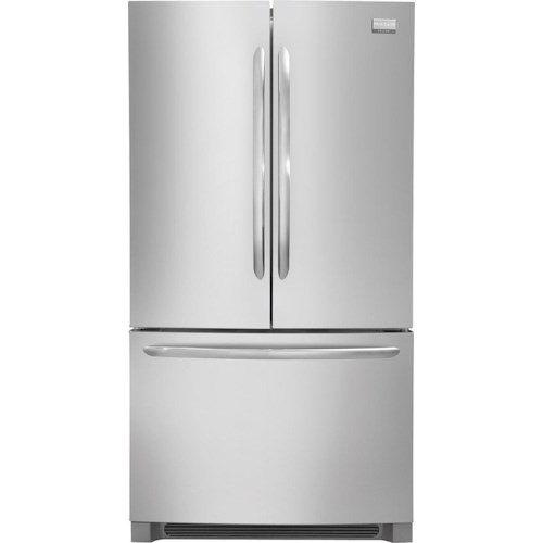 Frigidaire Frigidaire Gallery Refrigerators Gallery ENERGY STAR® Gallery 22.6 Cu. Ft. French Door Counter-Depth Refrigerator with Quiet Design