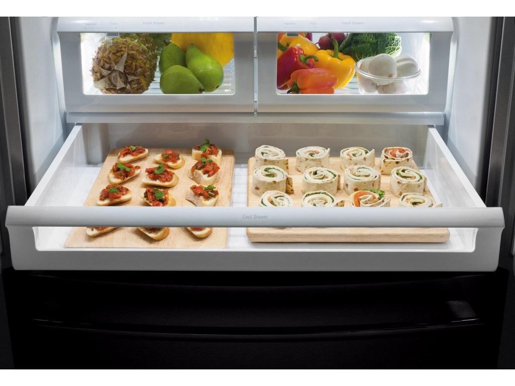 Effortless™ Glide Freezer Drawers