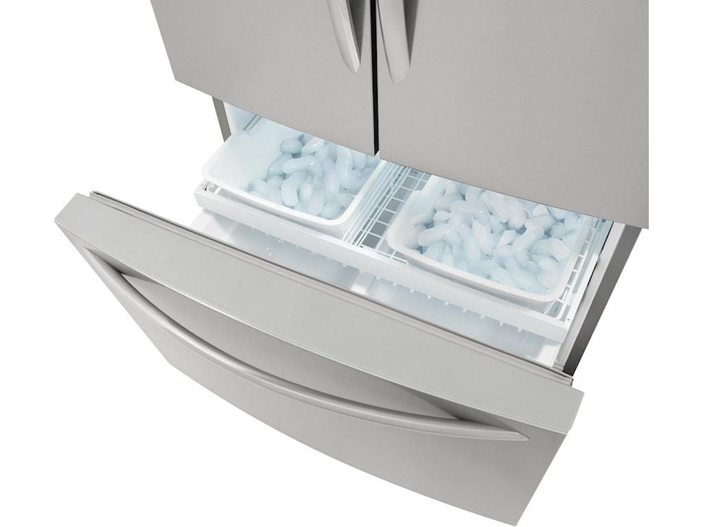 Effortless™ Glide Freezer Drawers with Basket Dividers
