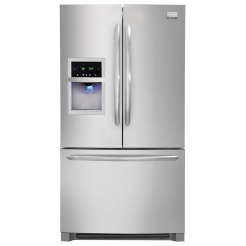 Frigidaire Frigidaire Gallery Refrigerators Gallery ENERGY STAR® 25.8 Cu. Ft. French Door Refrigerator with Water and Ice Dispenser