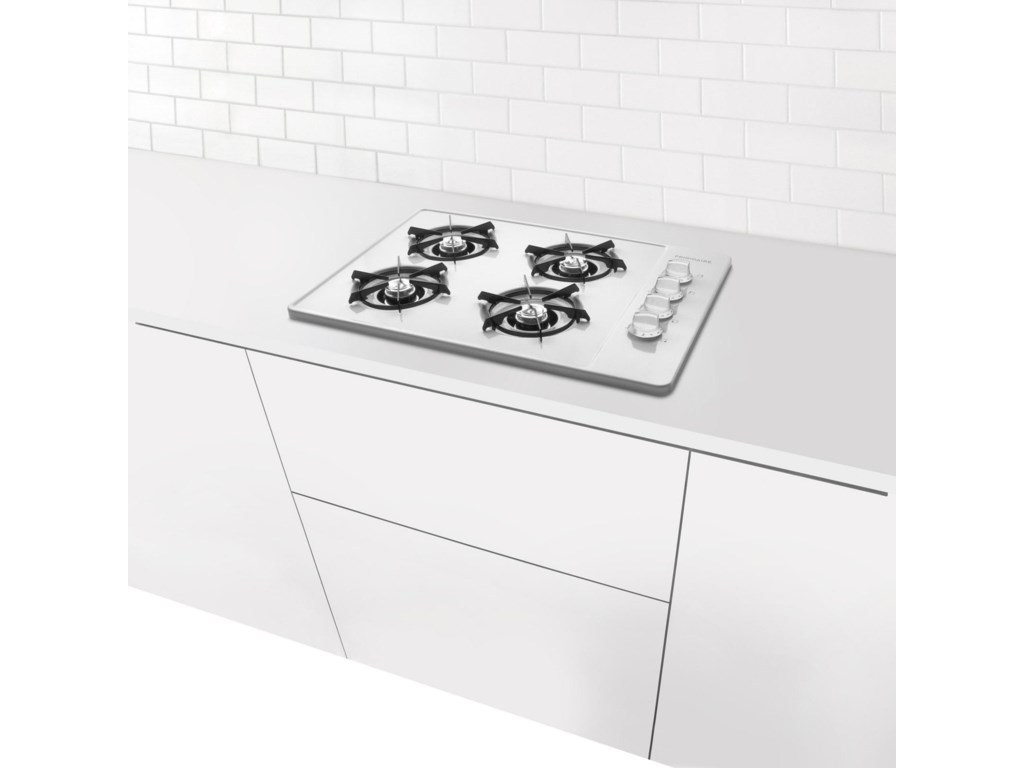 Cooktop Mounts Stylishly in Kitchen Countertop