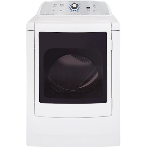 Frigidaire Gas Dryers 7.0 Cu. Ft. Affinity Front-Load Gas Dryer with Stainless Steel Drum