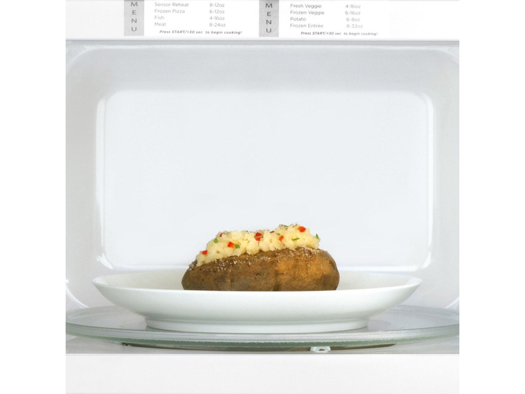Easy-to-Use One Touch Buttons Allow You to Cook Baked Potatoes, Popcorn or Even Add 30 Seconds with the Touch of a Button