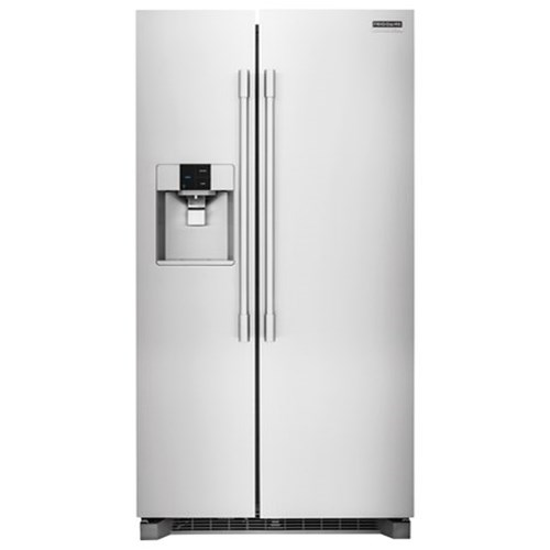 Frigidaire Professional - Side-by-Side Refrigerators 22.6 Cu. Ft. Counter-Depth Side-by-Side Refrigerator