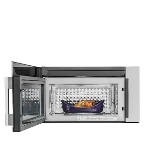 Frigidaire Professional Collection - Microwaves 1.8 Cu. Ft. 2-in-1 Over-The-Range Convection Microwave
