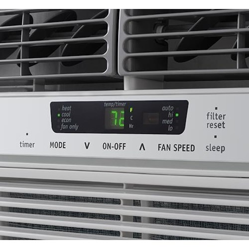 Frigidaire Room Air Conditioners 12,000 BTU Window-Mounted Room Air Conditioner with Supplemental Heat