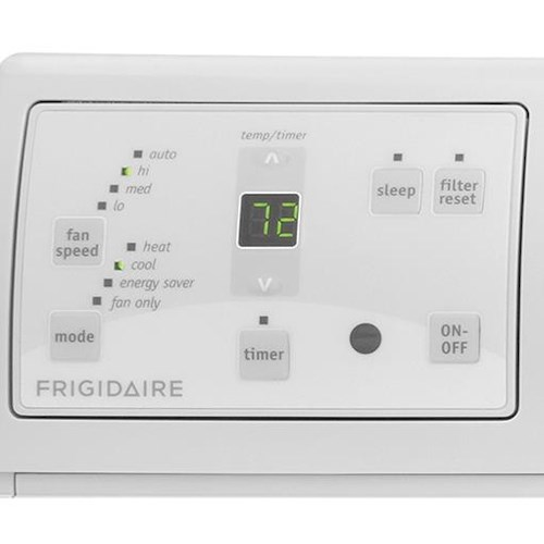 Frigidaire Room Air Conditioners 8,000 BTU Built-In Room Air Conditioner with Supplemental Heat
