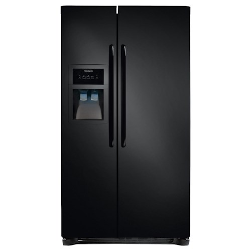 Frigidaire Side-By-Side Refrigerators ENERGY STAR® 22.6 Cu. Ft. Side-by-Side Refrigerator with Water and Ice Dispenser