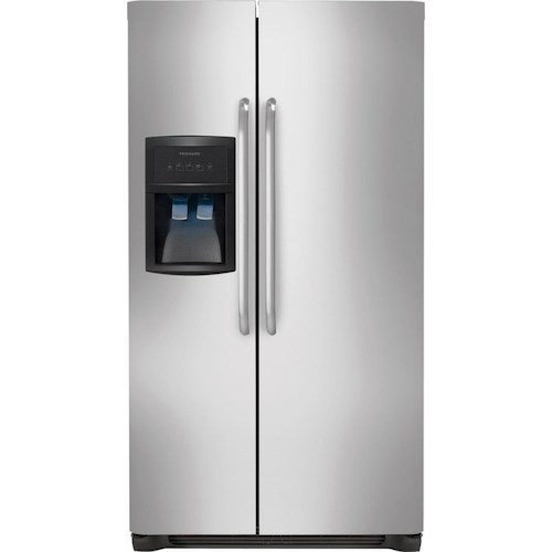 Frigidaire Side-By-Side Refrigerators ENERGY STAR® 22.6 Cu. Ft. Side-by-Side Refrigerator