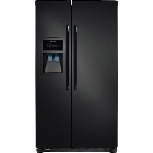 Frigidaire Side-By-Side Refrigerators ENERGY STAR® 26 Cu. Ft. Side-by-Side Refrigerator