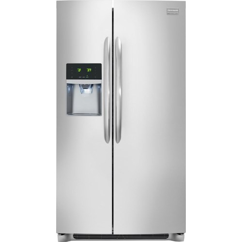 Frigidaire Frigidaire Gallery Refrigerators Gallery ENERGY STAR® 23.0 Cu. Ft. Counter-Depth Side-by-Side Refrigerator with SpaceWise® Plus
