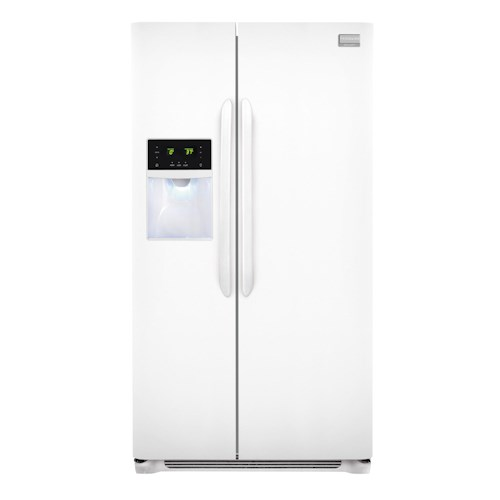Frigidaire Frigidaire Gallery Refrigerators Gallery ENERGY STAR® 26 Cu. Ft. Side-by-Side Refrigerator with Adjustable Interior Storage