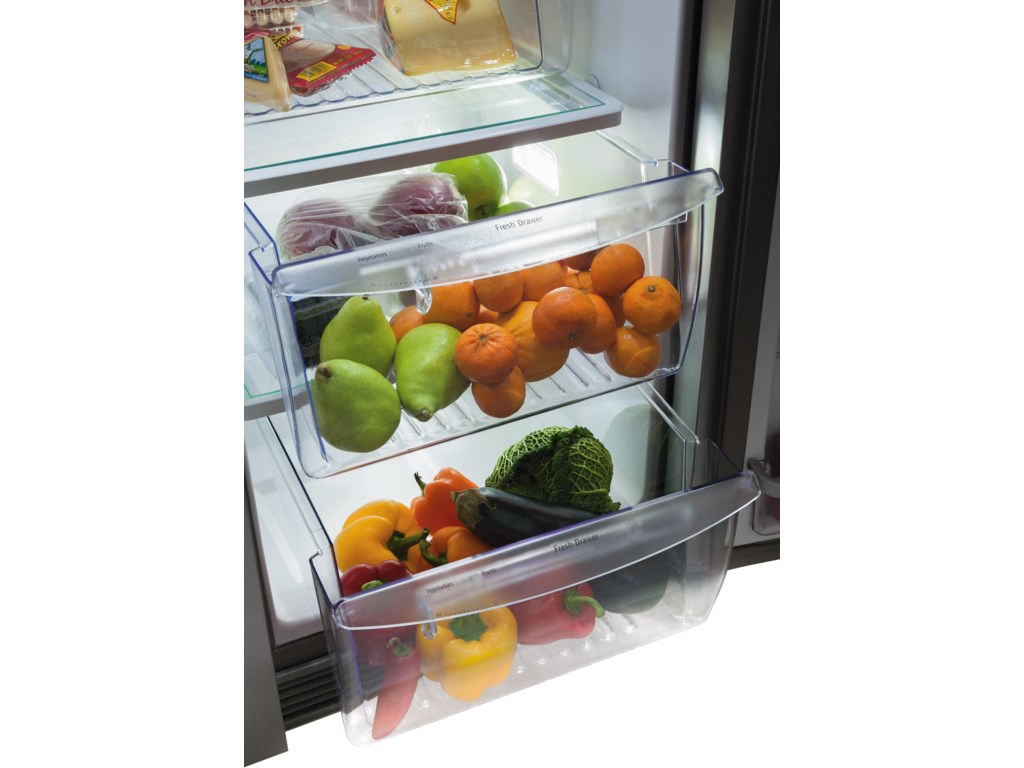 2 Humidity Controlled Crisper Drawers
