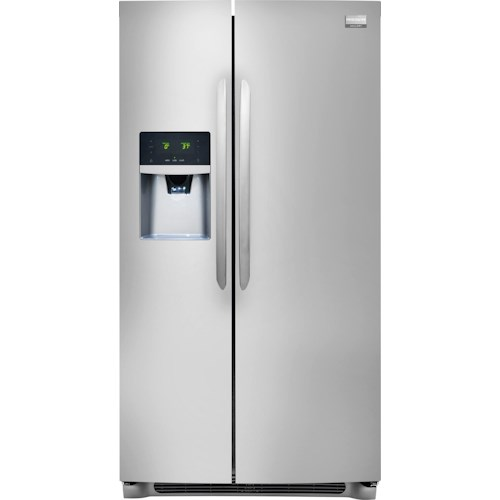 Frigidaire Frigidaire Gallery Refrigerators Gallery ENERGY STAR® Qualified 26 Cu. Ft. Side-by-Side Refrigerator