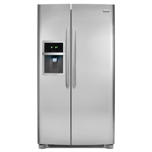 Frigidaire Frigidaire Gallery Refrigerators Gallery ENERGY STAR® 26 Cu. Ft. Side-by-Side Refrigerator with Water and Ice Dispenser