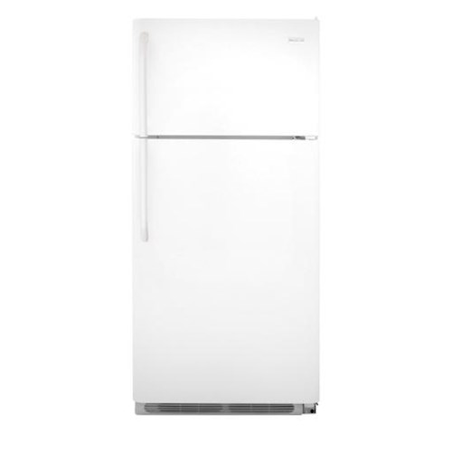 Frigidaire Top Freezer Refrigerators ENERGY STAR® 18 Cu. Ft. Top Freezer Refrigerator with Humidity-Controlled Crisper Drawer