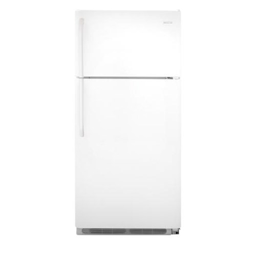 Frigidaire Top Freezer Refrigerators ENERGY STAR® 18 Cu. Ft. Top Freezer Refrigerator with Full-Width Wire Freezer Shelf