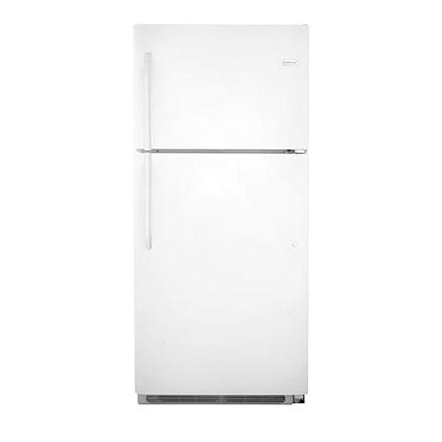 Frigidaire Top Freezer Refrigerators 20.5 Cu. Ft. ENERGY STAR® Top Freezer Refrigerator with Store-More™ Capacity