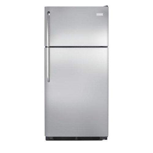 Frigidaire Top Freezer Refrigerators 18 Cu. Ft. Top Freezer Refrigerator with Store-More™ Humidity-Controlled Crisper Drawers