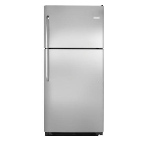 Frigidaire Top Freezer Refrigerators 20.4 Cu. Ft. Top Freezer Refrigerator with Store-More™ Capacity