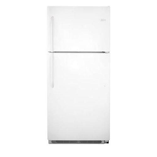 Frigidaire Top Freezer Refrigerators 20.5 Cu. Ft. Top Freezer Refrigerator with SPILLSAFE® Shelves