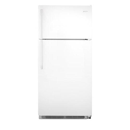 Frigidaire Top-Freezer Refrigerator ENERGY STAR® 18 Cu. Ft. Top Freezer Refrigerator with Full-Width Wire Freezer Shelf