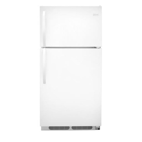 Frigidaire Top-Freezer Refrigerator 14.6 cu. ft. Top Freezer Refrigerator with 2 Wire Shelves