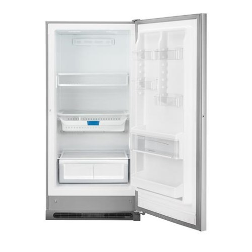 Frigidaire Upright Freezers ENERGY STAR® 2-in-1 17.0 Cu. Ft. Upright Freezer or Refrigerator with ArcticLock™ Thicker Walls