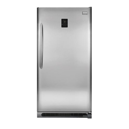 Frigidaire Upright Freezers ENERGY STAR® 2-in-1 20.5 Cu. Ft. Upright Freezer or Refrigerator with Retractable Pizza Shelf