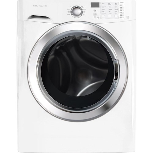 Frigidaire Washers ENERGY STAR® 3.9 Cu.Ft. Front Load Washer featuring Ready Steam