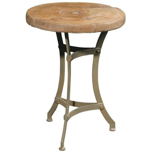 Furniture Classics    Wagon Wheel Accent Table