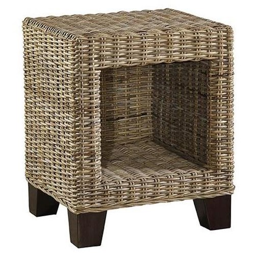 Furniture Classics Accents Woven Kubu Oasis Open End Table