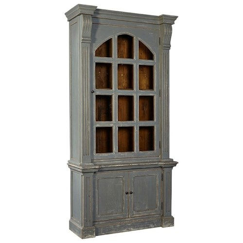 Furniture Classics Accents Evangeline Cabinet with Glass Doors
