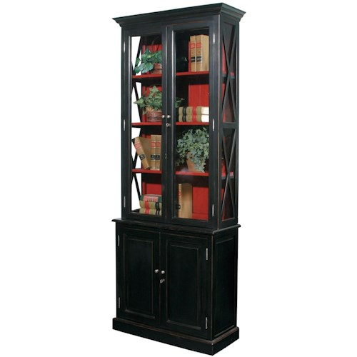 Furniture Classics Accents 4 Door Stratford Cabinet with 3 Shelves