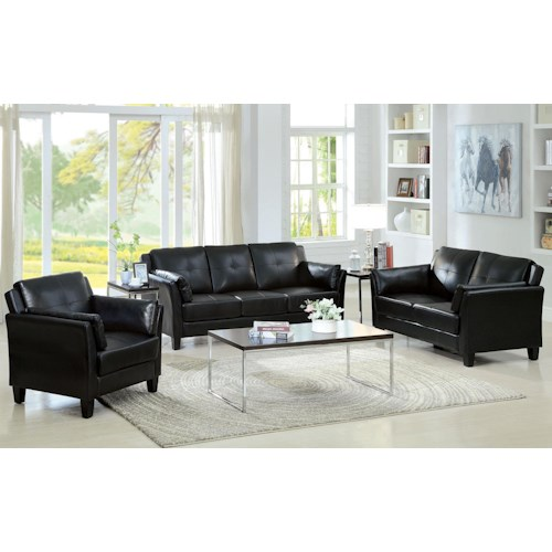 Furniture of America / Import Direct CM6717 Sofa and Love Seat