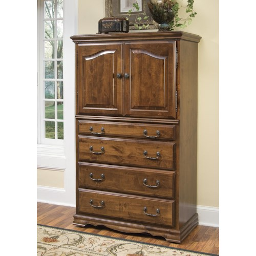 Furniture Traditions Alder Hill Treasure Chest with 2 Doors