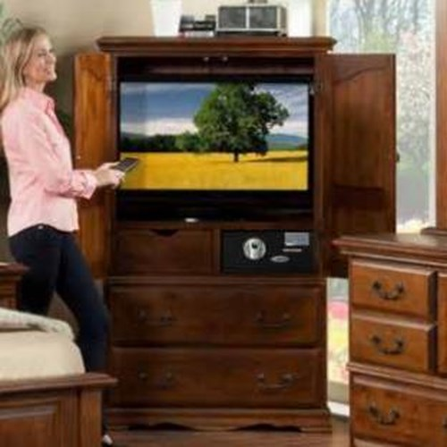Furniture Traditions Alder Hill Television Armoire