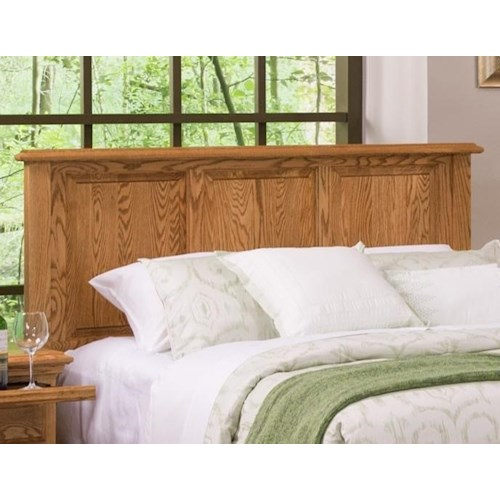 Furniture Traditions Master-Piece Queen American Heritage Panel Headboard