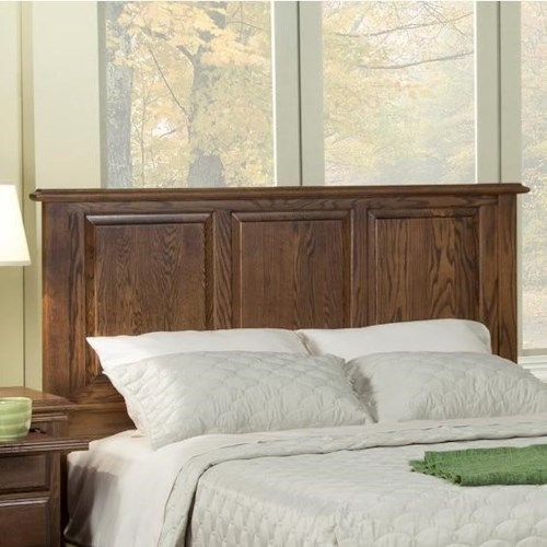Furniture Traditions Master-Piece California King American Heritage Panel Headboard