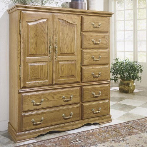 Furniture Traditions Master-Piece 12-Drawer Chest with Doors