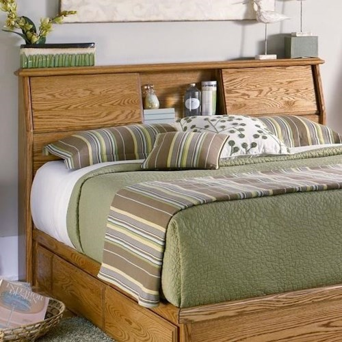 Furniture Traditions Master-Piece King/Cal King Bookcase Headboard